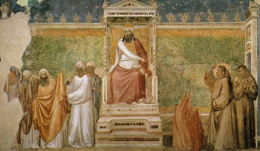 Franciscus en de sultan (Giotto)